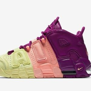 Nike Air More Uptempo (GS) Lucky Charms Size 6Y